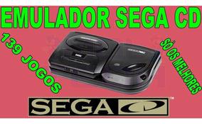 Emulador Sega Cd + 139 Jogos - Só Os Melhores