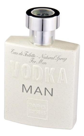 Vodka Man Paris Elysees - Perfume Masculino - Eau De Toilette 100ml