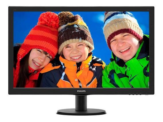 Monitor Led 27pol Philips 273v5lhab (lcd Tft, Full Hd, 1ms Gtg, Vga, Dvi, Hdmi)