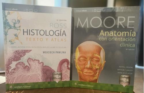Imagen 1 de 7 de Moore+ross Anatomia Con Orientacion Clinica+histologia
