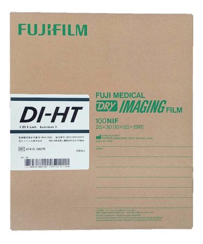 Imagen 1 de 1 de Pelicula Fuji 10x12 Diht Termica Placas De Rayos X Rx 100 H
