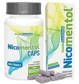 Pare De Fumar Com Nicomentol | 1 Spray + 1 Caps | Oferta