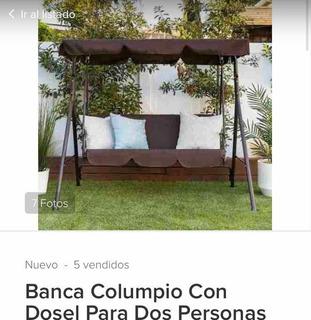 Banca Columpio Solo Estructura Falta Tapizar