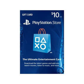 Tarjetas Playstation Network Psn $10 - $100 Gift Card Usa