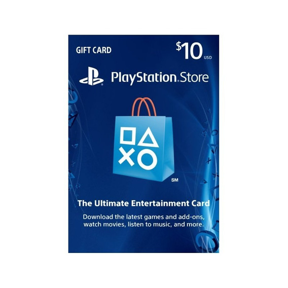 Tarjetas Playstation Network Psn $10 - $100 Gift Card Usa