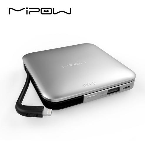 Imagen 1 de 1 de Cargador Portatil Mipow Power Cube 5000mah iPhone