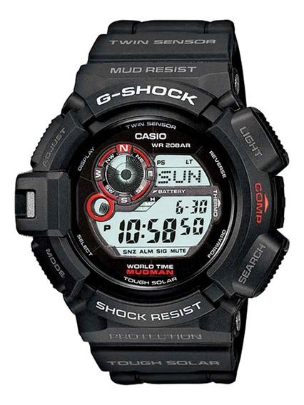Relógio Casio Masculino G-9300-1dr Preto - Refinado