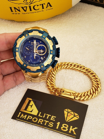 Relógio + Pulseira De Brinde