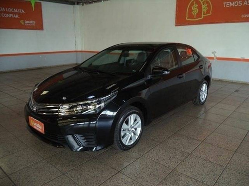 Imagem 1 de 11 de Toyota Corolla 1.8 Gli Upper 16v Flex 4p Automático
