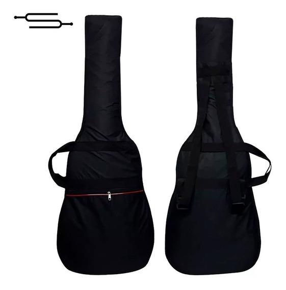 Funda Guitarra Electrica Acolchada Impermeable Doble Correa