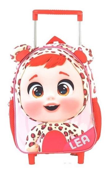 Mochila Cry Babies Lea Con Carro 11 Pulgadas 98303