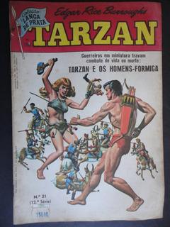 Hq Tarzan Nº 21 (12ª Série) 1986.