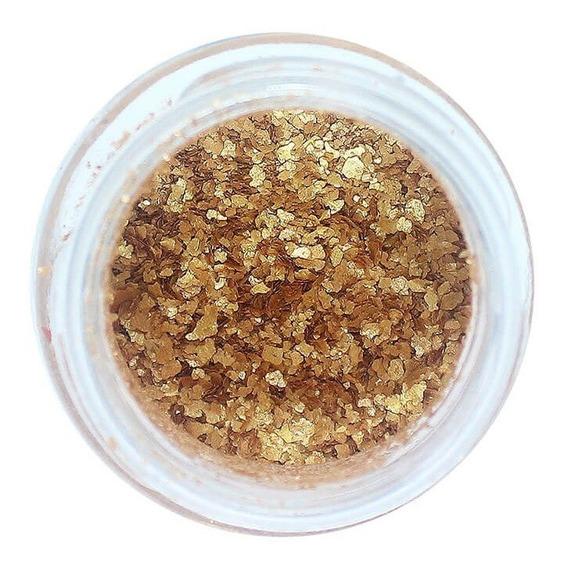 Glitter Natural E Biodegradável 1g - Ouro Velho