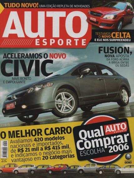 Auto Esporte Nº492 Civic Celta Pt Cruiser Limited Marruá