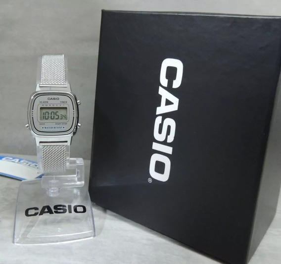 Relógio Casio Vintage Mini La670wem-7df - Garantia Promocao