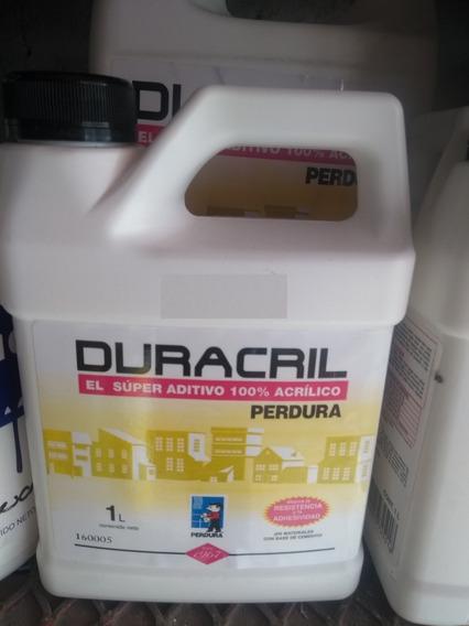 Duracril 1 Lt Aditivo Acrilico Para Cemento Y Mezclas