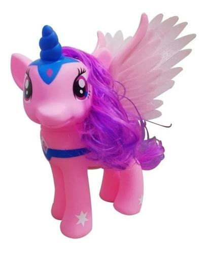 Unicornio Lovely Horse Con Sonido Y Luz