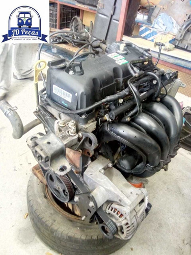 Motor Zetec Rocam 1.6 Flex ( C/ Nf E Baixa )