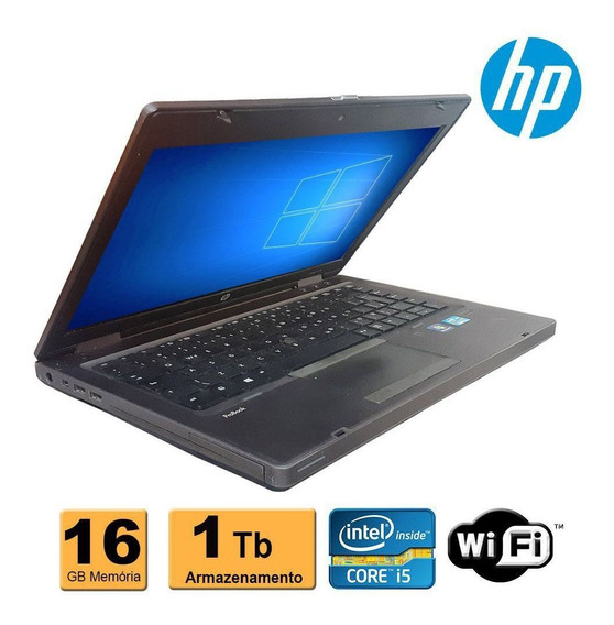 Notebook Hp Probook 6470b Core I5 3ª Geração 16gb Hd1tb