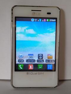 Celular LG E405f Usado Funcionando Ideal Para Colecionadores