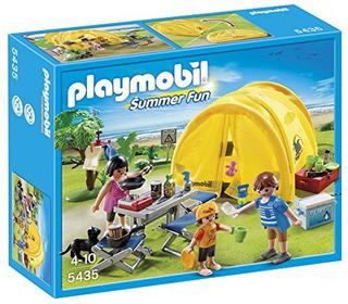 Juguetes De Construcciónjuguete Playmobil Family Camping ..
