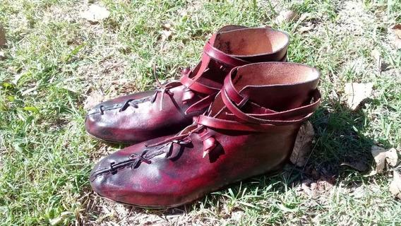 Zapatos Vikingos De 100% Cuero