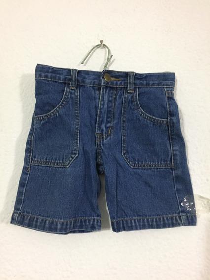 Bermuda Short Jeans Niño Talla 2 Marca Kid Cool B192 (10)