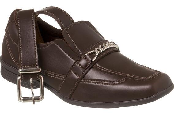 Sapato Social Com Cinto Infantil Menino Redmax A/b928-005