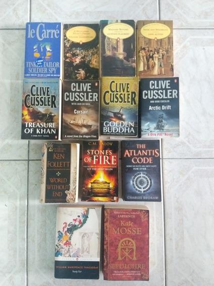 Lote 17 Livros Literatura Estrangeira (inglês)
