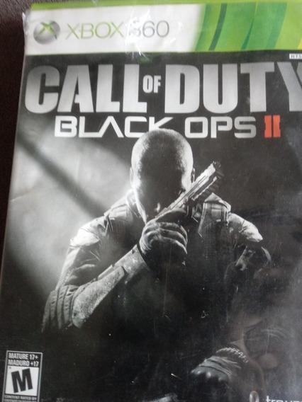 Call Of Duty Black Ops Ii Usado,xbox 360,mídia Física