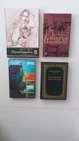 Livro Oscar Wilde, Katherine Mansfield, James Joyce, Dickens