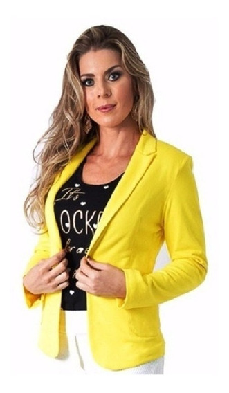 Kit Com 2 Blazer Feminino, Fashion, Alta Costura Ref 167