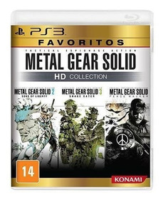 Metal Gear Solid Hd Collection Ps3 Mídia Física Rcr Games