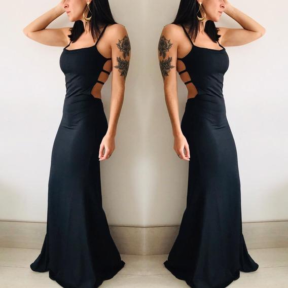 Vestido Largo Mujer Ideal Fiesta M1716