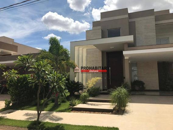 Sobrado Com 4 Dormitórios À Venda, 379 M² Por R$ 2.300.000 - Parque Residencial Damha V - São José Do Rio Preto/sp - So3025
