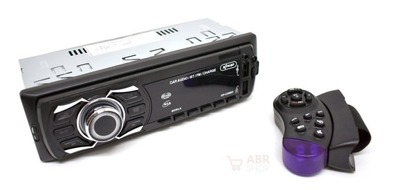 Som Automotivo Radio Bluetooth Usb Controle Volante Carro