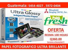 Resma De Papel Para Imprimir Fotos Fotografias Instantaneas