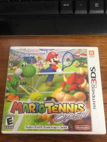 Mario Tennis Open - 3ds Físico - Impecável