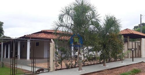 Chácara Com 3 Dormitórios À Venda, 1070 M² Por R$ 500.000 - Bortoluzzo - Cedral/sp - Ch0176