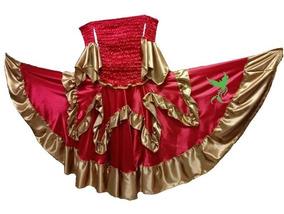 Conj Pomba Gira Preto E Dourado/ Umbanda/candomblé/ciganas