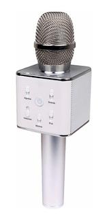 Micrófono Karaoke Q7 Bluetooth Inalámbrico + Parlante + Usb