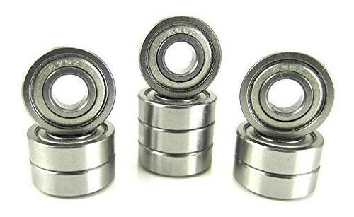 Rodamientos De Bolas De Precision 5x13x4mm Escudos De Metal