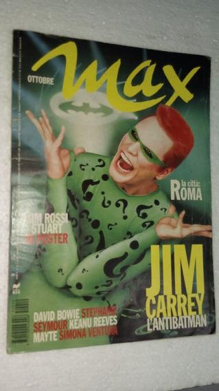 Max Ottobre 1995 Jim Carrey David Bowie Keanu Reaves