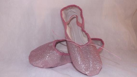 Sapatilhas De Ballet Glitter