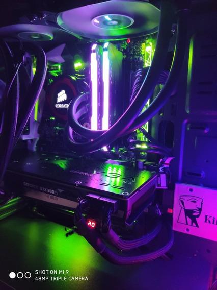 Placa Mãe Gigabyte Z270x Gaming7 + I7 7700k