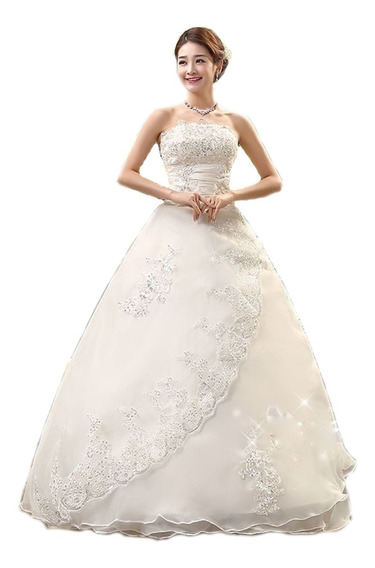 Elegante Vestido De Novia Hermoso Estilo Princesa Barato