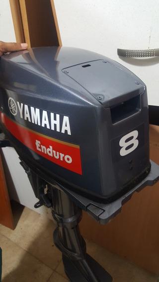 Motor Fuera Borda Yamaha Sólo 4 Hrs Uso