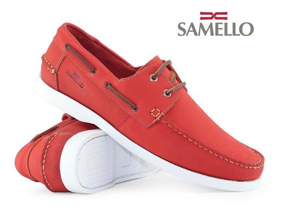 Dockside Samello Vermelho Coral Tamanho 38 A 45 46 47 48