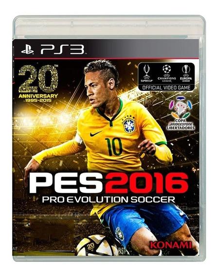 Pro Evolution Soccer 2016 - Pes 16 - Ps3 - Original - Usado