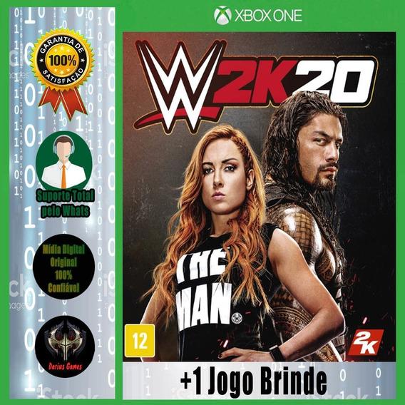 Wwe 2k20 Xbox One Midia Digital +1 Jogo Brinde
